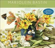 Marjolein Bastin Nature's Inspiration 2022 Deluxe Wall Calendar with Print