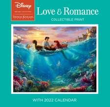 Disney Dreams Collection by Thomas Kinkade Studios: Collectible Print with 2022 Wall Calendar