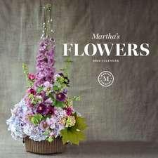 Martha's Flowers 2022 Wall Calendar