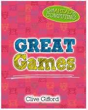 GET AHEAD IN COMPUTING GREAT GAMES