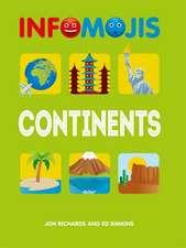 Infomojis: Continents
