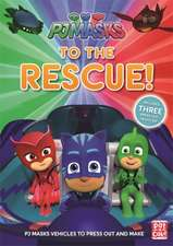 PJ MASKS PRESS OUT VEHICLES BOOK