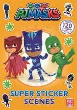 PJ Masks: Super Sticker Scene Book