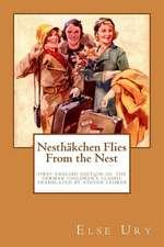 Nesthaekchen Flies from the Nest
