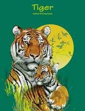 Tigermalbuch Fur Erwachsene 1