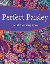 Perfect Paisley Adult Coloring Book