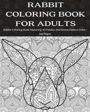 Rabbit Coloring Book for Adults