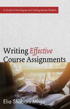 Writing Effective Course Assignments