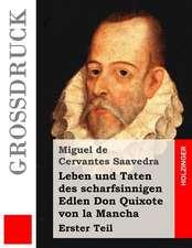 Leben Und Taten Des Scharfsinnigen Edlen Don Quixote Von La Mancha (Grossdruck)
