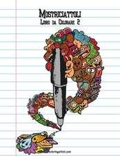 Mostriciattoli Libro Da Colorare 2