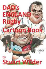 Dad's England Rugby Cartoon Book