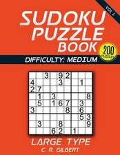 Sudoku Puzzle Book - Medium