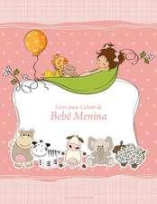 Livro Para Colorir de Bebe Menina 1