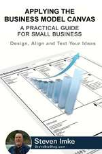 Applying the Business Model Canvas