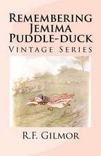 Remembering Jemima Puddle-Duck