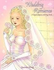 Wedding Romance - A Hand-Drawn Coloring Book