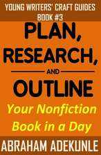 Plan, Research, and Outline Your Book in a Day
