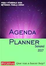 Agenda Planner Semanal 2017