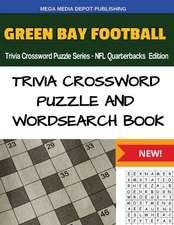 Green Bay Football Trivia Crossword Puzzle Series - NFL Quarterbacks Edition