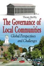 Governance of Local Communities: Global Perspectives & Challenges