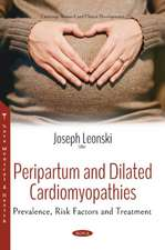 Peripartum and Dilated Cardiomyopathies