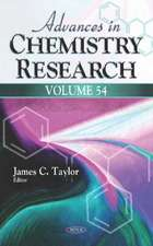 Advances in Chemistry Research. Volume 54