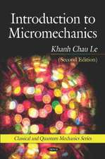 Introduction to Micromechanics (Second Edition)