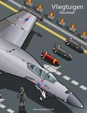 Vliegtuigen Kleurboek 1