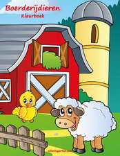 Boerderijdieren Kleurboek 1