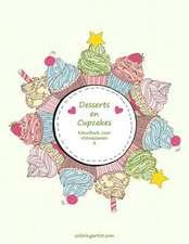 Desserts En Cupcakes Kleurboek Voor Volwassenen 3