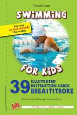 39 Illustrated Instruction Cards - Breaststroke -