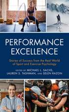 PERFORMANCE EXCELLENCE STORIECB