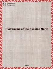 Hydronyms of the Russian North