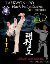 Taekwon Do Itf Black Belt Patterns