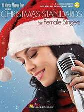 Christmas Standards for Female Singers: Music Minus One Vocals [With Access Code]
