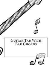 Guitar Tab with Bar Chords