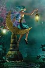 Lantern Moon Fairy Mega-Journal