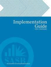 Implementation Guide for Companies