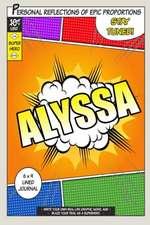 Superhero Alyssa