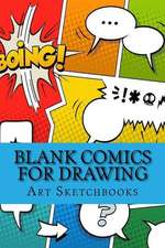 Blank Comics for Drawing