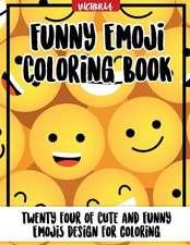 Funny Emoji Coloring Book