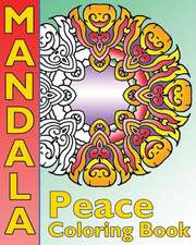 Peace Mandala Coloring Book