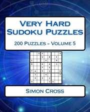 Very Hard Sudoku Puzzles Volume 5