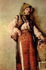 """Peasant Woman with Pitcher"" by Nicolae Grigorescu"