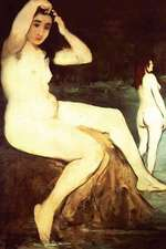 """""""Bathers on Seine"""" by Edouard Manet"""