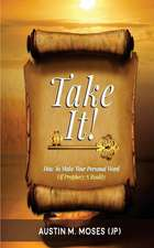 Take It! How to Make Your Personal Word of Prophecy a Reality