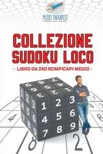 Collezione Sudoku Loco | Libro da 240 rompicapi medio