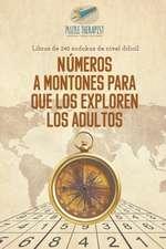 Números a montones para que los exploren los adultos | Libros de 240 sudokus de nivel difícil
