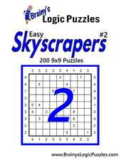 Brainy's Logic Puzzles Easy Skyscrapers #2