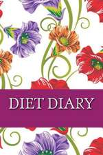 Diet Diary, Slimming Weight Loss Diary, Food Log Journal, Slimming Clubs Diary